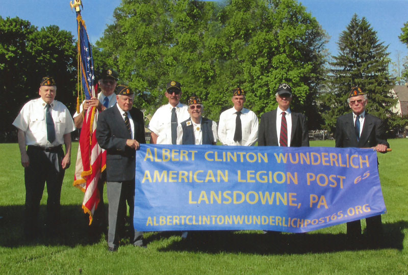 FD Hennessy with American Legion Post 65